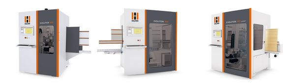 Holzher Evolution Series CNC Machines