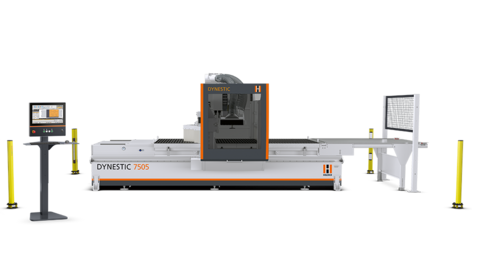 Nesting technology at the highest level - the new nesting CNC machine DYNESTIC 7505 from HOLZHER